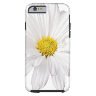 White Daisy Flower Background Customized Daisies iPhone 6 Case