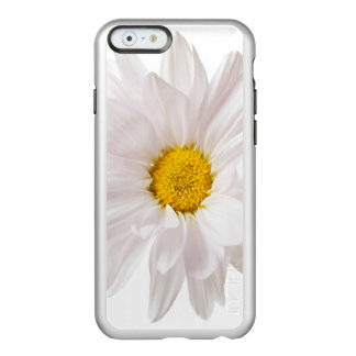 White Daisy Flowers Daisies Flower Floral Template Incipio Feather® Shine iPhone 6 Case