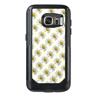 White Daisy Flowers OtterBox Galaxy S7 Plus Case