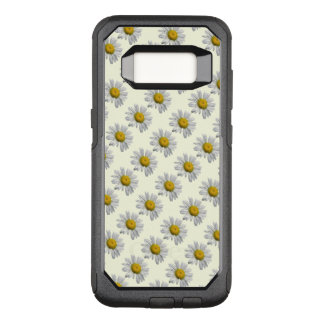 White Daisy Flowers OtterBox Galaxy S8 Plus Case