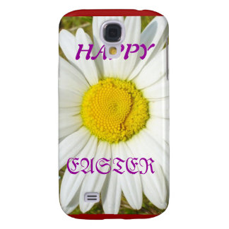 White Daisy Happy Easter Products Galaxy S4 Covers