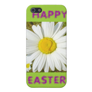 White Daisy Happy Easter Products iPhone 5/5S Covers