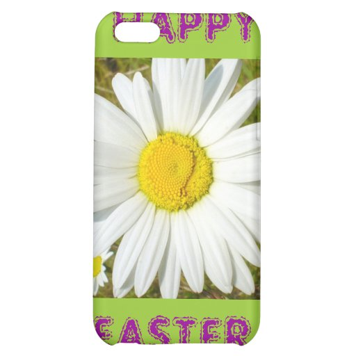 White Daisy Happy Easter Products iPhone 5C Cases