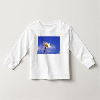 White Daisy on Blue Sky T Shirts