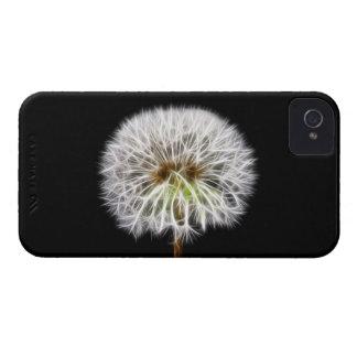 White Dandelion Flower Plant iPhone 4 Cases