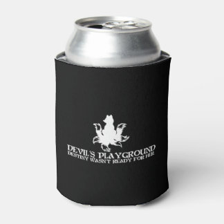 White Devil's Playground Logo Can Drink Cooler