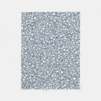 White Diamonds Glitter Fleece Blanket