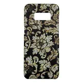 White Diamonds Glitter Flowers Case-Mate Samsung Galaxy S8 Case