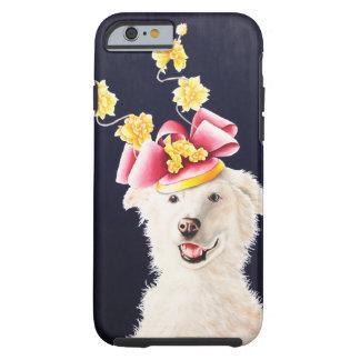 White Dog American Eskimo Samoyed IPhone 6 Cover Tough iPhone 6 Case