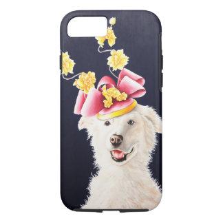 White Dog American Eskimo Samoyed iPhone 7 Cover