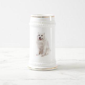 WHITE DOG DIGITAL REALISM PETS HAPPY LOGO CAUSES A MUG