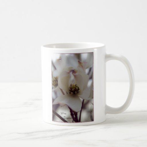 White Dogwood Basic White Mug