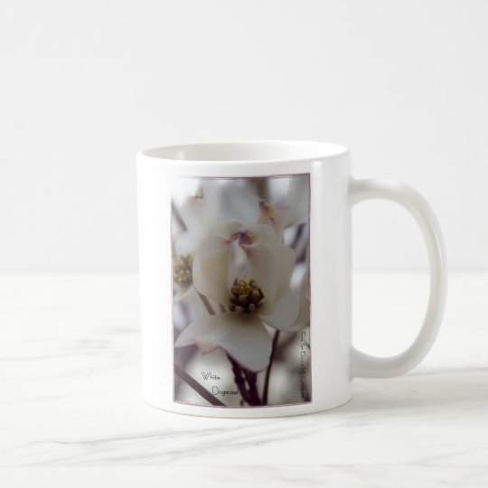 White Dogwood Coffee Mug