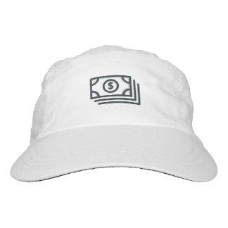 White dollar sign cap
