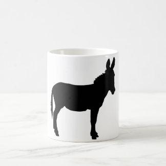 White donkey logo mug PERSONALISE