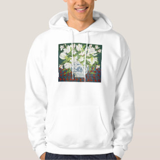 White double tulips and alstroemerias 2013 hoodie
