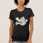 White Dove of Flowers T-Shirt