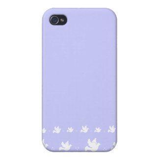 White Dove Pattern iphone cover