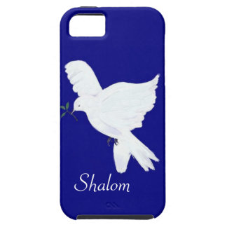 White Dove-Shalom! iPhone 5 Cases