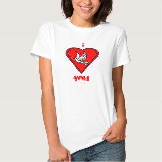 White Dove Tshirts