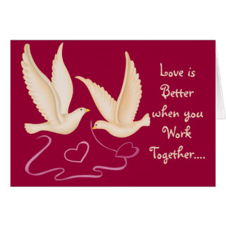White Doves - Love is Better.... Cards