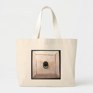 white drawer jumbo tote bag