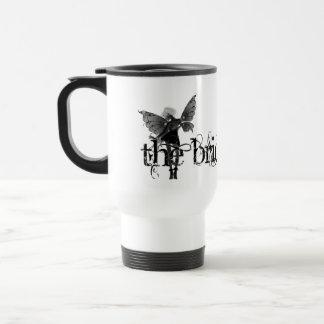 White Dress Fairy B&W Negative - The Bride Mug