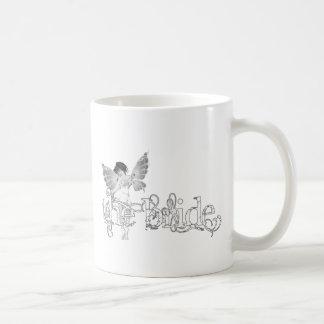 White Dress Fairy B&W - The Bride Mug