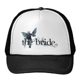 White Dress Fairy Blue Negative - The Bride Cap
