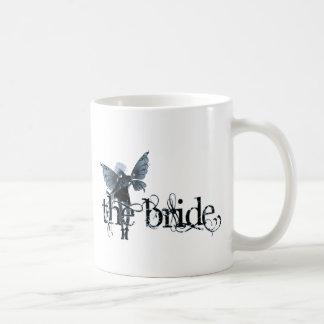 White Dress Fairy Blue Negative - The Bride Classic White Coffee Mug