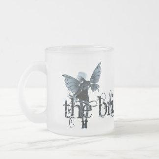 White Dress Fairy Blue Negative - The Bride Coffee Mug