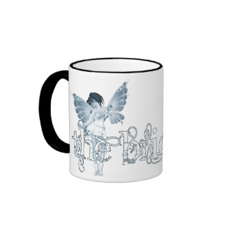 White Dress Fairy Blue - The Bride Coffee Mug