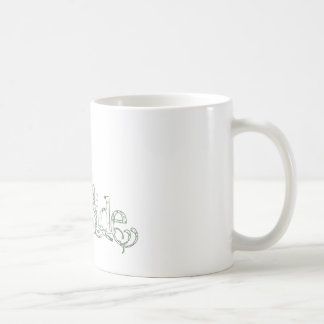 White Dress Fairy Green - The Bride Basic White Mug