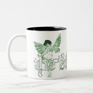 White Dress Fairy Green - The Bride Coffee Mugs