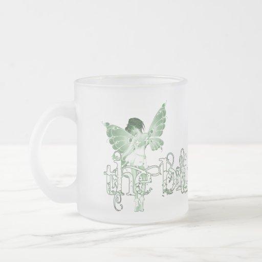 White Dress Fairy Green - The Bride Coffee Mug