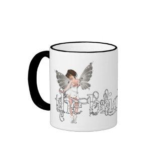 White Dress Fairy Original - The Bride Coffee Mugs