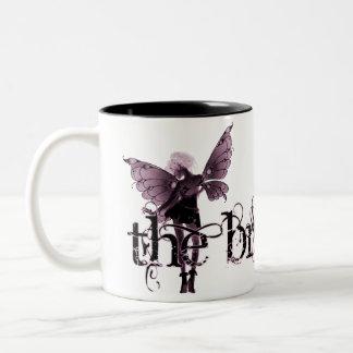 White Dress Fairy Pink Negative - The Bride Coffee Mugs