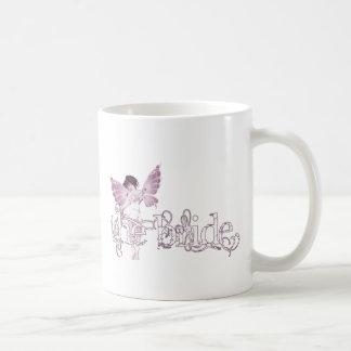 White Dress Fairy Pink - The Bride Classic White Coffee Mug