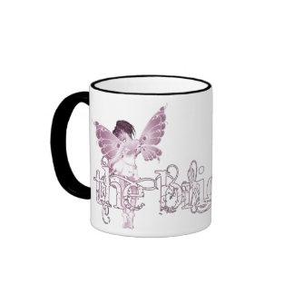 White Dress Fairy Pink - The Bride Mug