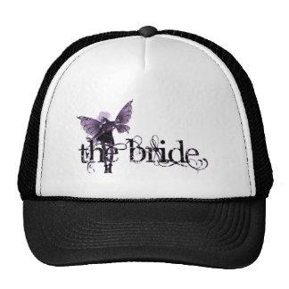 White Dress Fairy Purple Negative - The Bride Cap