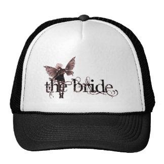 White Dress Fairy Red Negative - The Bride Cap