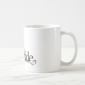 White Dress Fairy Red Negative - The Bride Classic White Coffee Mug