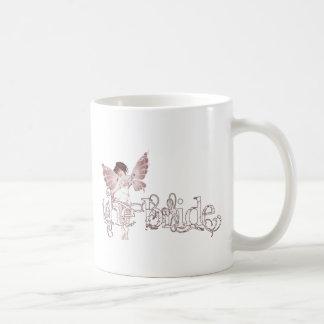 White Dress Fairy Red - The Bride Coffee Mug