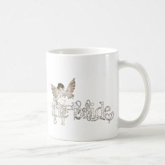 White Dress Fairy Sepia - The Bride Mugs