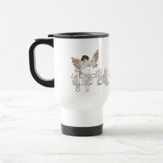 White Dress Fairy Sepia - The Bride 15 Oz Stainless Steel Travel Mug