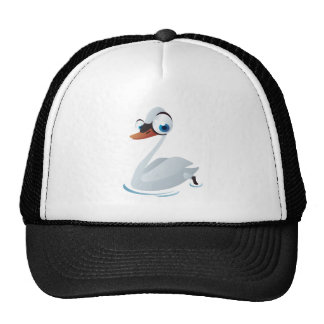 White duck cap