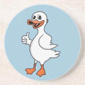 White duck coaster