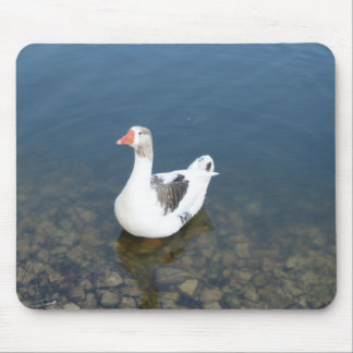 White Duck Mouse Pad Mousepad