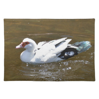 White Duck. Placemat