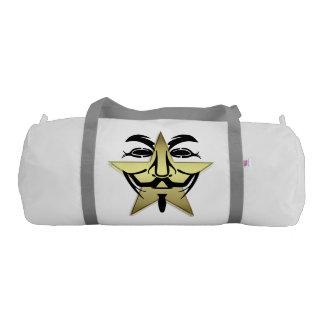 White Duffle Gym Bag
